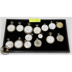 GROUP OF ANTIQUE POCKET WATCHES FOR RESTORATION