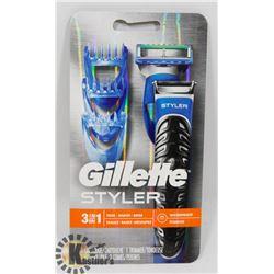 GILLETTE 3 IN 1 WATERPROOF STYLER