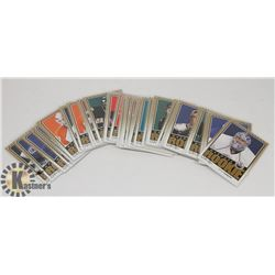 LOT OF 40 OPEECHEE 2009-10 ROOKIE HOCKEY CARDS.
