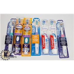 BAG OF TOOTHBRUSHES