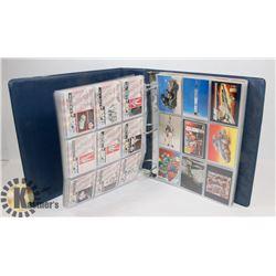 BINDER OF GI JOE 30 YEAR REVIEW TRADING CARDS