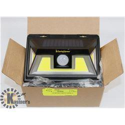 2-NEW SOLAR SECURITY LIGHTS