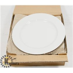 """PACKAGE OF 6 ARCOROC 7"""" BRIGHT WHITE PLATES"""