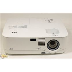 NEC 2600 LUMENS DLP PROJECTOR 351 HOURS ONLY