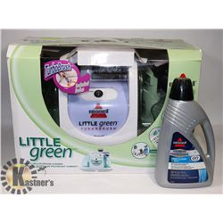 BISSELL LITTLE GREEN CLEANER WITH SOAP