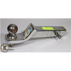 BALL MOUNT TRAILER HITCH.