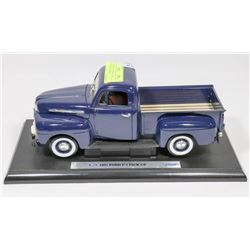 1951 FORD PICK UP TRUCK 1:18 SCALE MODEL BY WELLY.