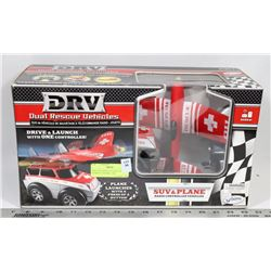 DRV DUAL RESCUE VEHICLES REMOTE CONTROL CAR.