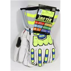 2 PAIR BDG ARC TEK  GLOVES, CUT RESISTANT