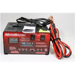 NEW MOTOMASTER BATTERY CHARGER 100/15/2A FOR