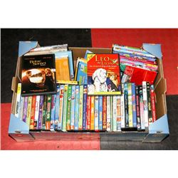 LARGE BOX OF ALL KIDS / CHILDRENS DVD'S