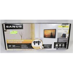 FIXED POSITION SANUS TV WALL MOUNT