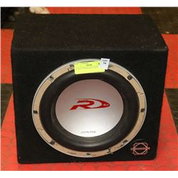 ALPINE SUBWOOFER IN  BOX