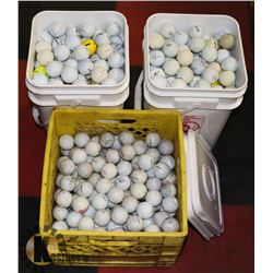 LARGE LOT OF RECLAIMED GOLF BALLS