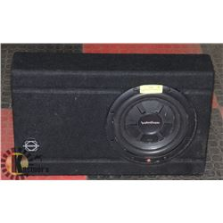 ROCKFORD/FOSGATE SUBWOOFER IN BOX