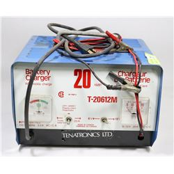 20AMP BATTERY CHARGER WITH TRICKLE CHARGE