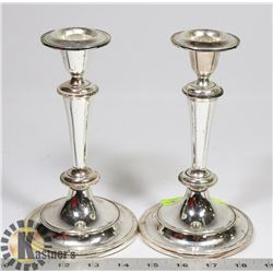 PAIR OF CANDLESTICK HOLDERS