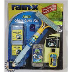 NEW RAIN-X AUTO GLASS CLEANING KIT