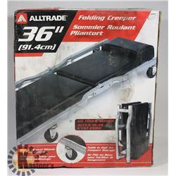 NEW ALTRADE 36  FOLDING CREEPER. TOOLS,