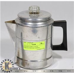 VINTAGE COMET COFFEE PERCOLATOR FOR CAMPING