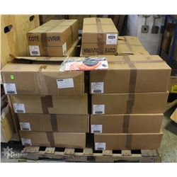 PALLET OF DECLERMONT BOOT INSOLES, ASSORTED.