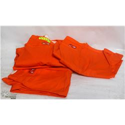 LOT OF 4 MILLIKEN HI VIS WORK PANTS SIZE 44