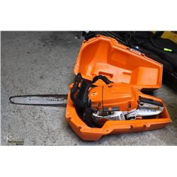 STIHL MS261C CHAINSAW WITH CASE (BROKEN HANDLE)