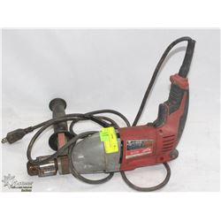 MILWAUKEE CORDED HAMMER DRILL