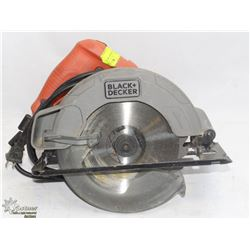 BLACK AND DECKER CORDED SKIL SAW