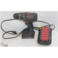 BOSCH 8V CORDLESS DRILL WITH BATTERY CHARGER