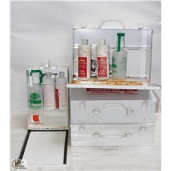 LOT OF 4 EYE WASH STATIONS