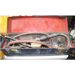 PORTABLE WELDING HOSE AND BASE
