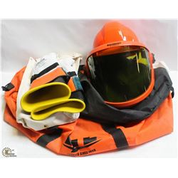 ARCFLASH SAFETY BAG WITH MASK AND HARD HAT,