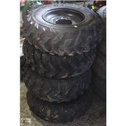 SET OF 4 MAXXIS 2 PLY OFF-ROAD TIRE