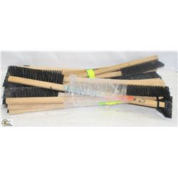 LOT OF WOODEN ICE SCRAPER BRUSHES