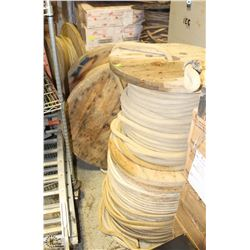 6 ASSORTED ROLLS OF HEAVY DUTY ROPE