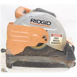 RIDGID CUT OFF SAW