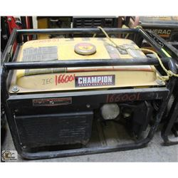 CHAMPION 3000W/4000W GAS GENERATOR, UNTESTED - AS