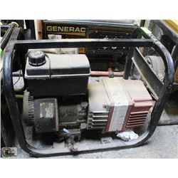 INDURO GAS GENERATOR, UNTESTED - AS IS