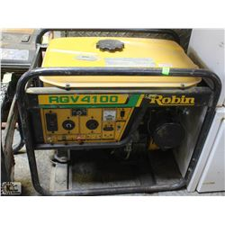 ROBIN RGV4100 GAS GENERATOR, UNTESTED - AS IS