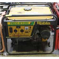 ROBIN RBV4100 GAS GENERATOR, UNTESTED - AS IS