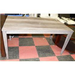 WOOD GRAIN STYLE GREY KITCHEN TABLE