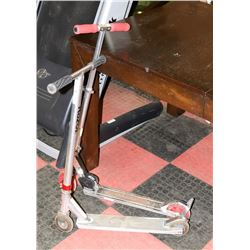PAIR OF FOLDABLE SCOOTERS
