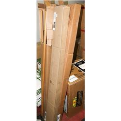 UNCLAIMED 4 CASES OF BREAKAWAY FRAMES AND HANDLES