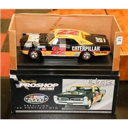 2000 NASCAR EDITION 1966 PONTIAC GTO DIE CAST CAR