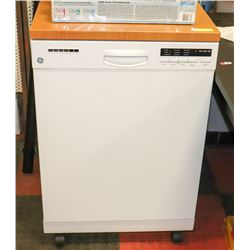 PORTABLE GE DISHWASHER WITH STAINLESS DRUM