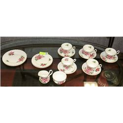 16 PIECES OF ROYAL ALBERT PRAIRIE ROSE CHINA