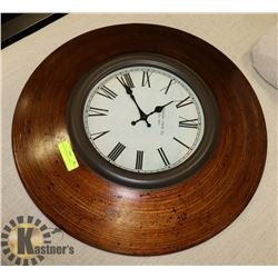 ROUND BUCHANAN CLOCK.