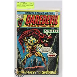 VINTAGE MARVEL DAREDEVIL SEPT 125, 25 CENT COMIC
