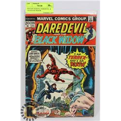 VINTAGE MARVEL DAREDEVIL  & THE BLACK WIDOW